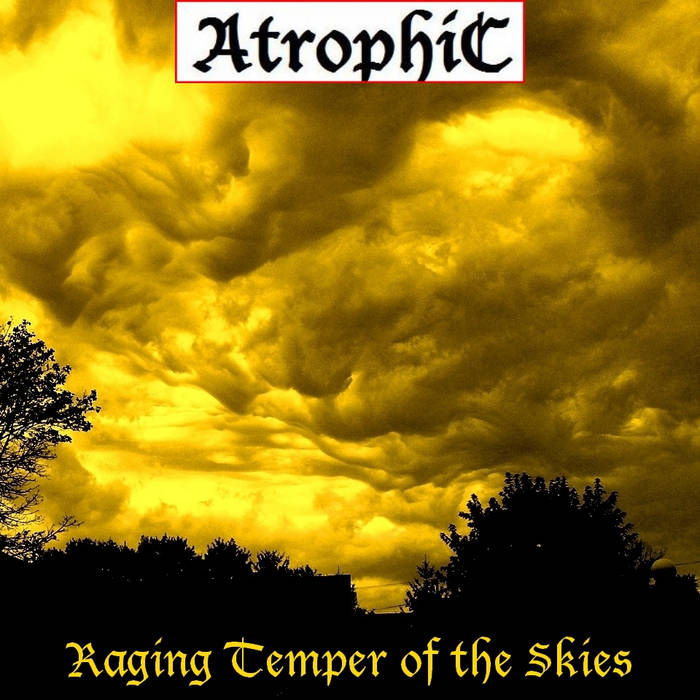 Raging Temper of the Skies cover art