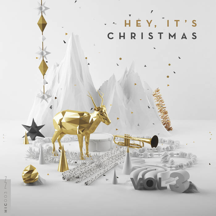 Hey, It's Christmas! - Vol. 3 cover art