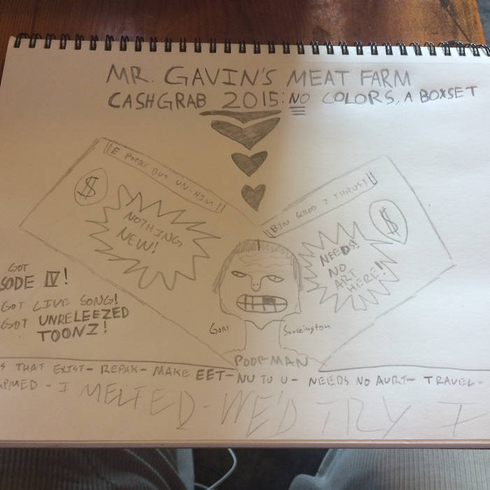 Cashgrab 2015: No Colors, a Boxset (Hi art by low boy) cover art