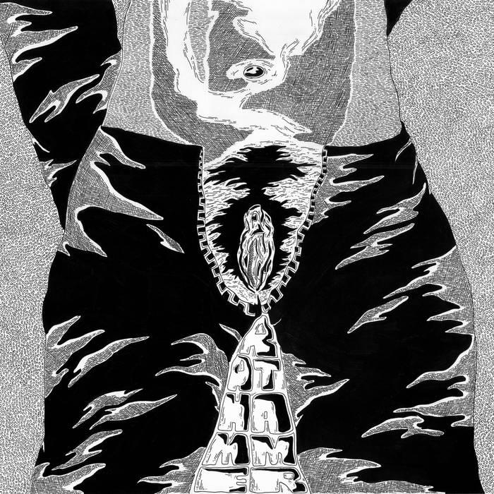 Berserk Split LP w/Absolutely Not (preview) cover art