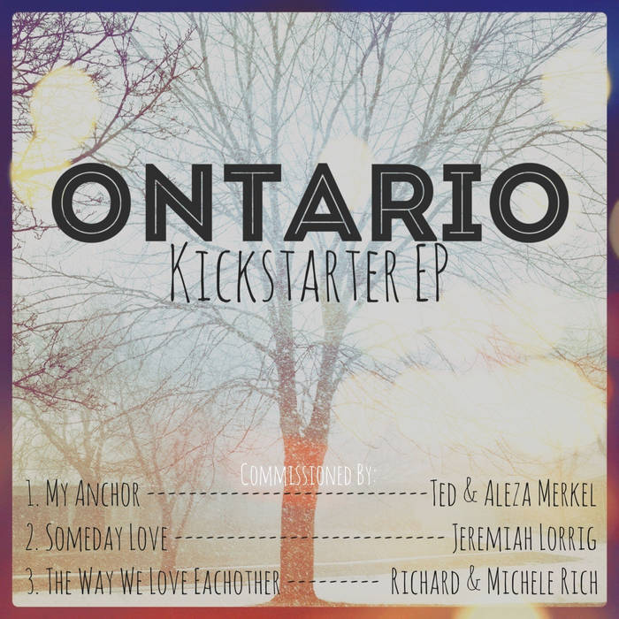 Kickstarter EP cover art