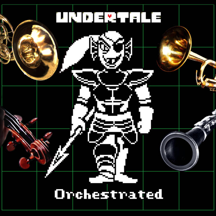 Undertale: Orchestrated cover art