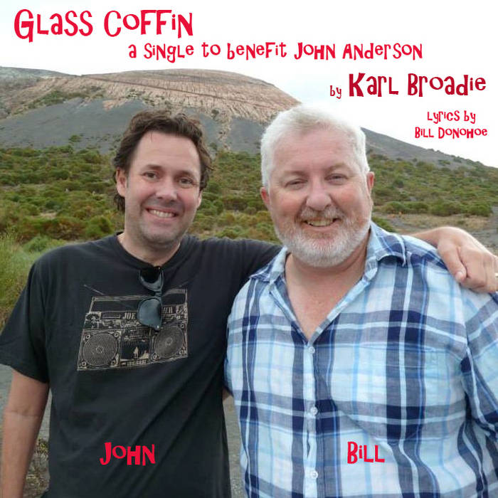 Glass Coffin (A single to benefit John Anderson) cover art