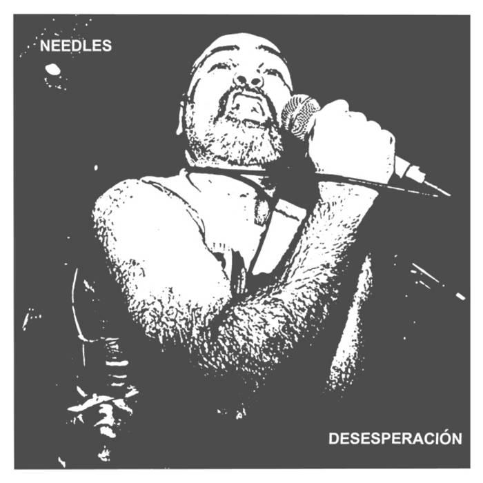 """Desesperación 7"""" (LUNGS-036) cover art"""