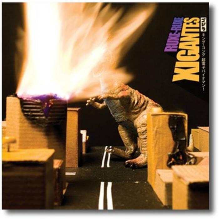 Xigantes (2008) cover art