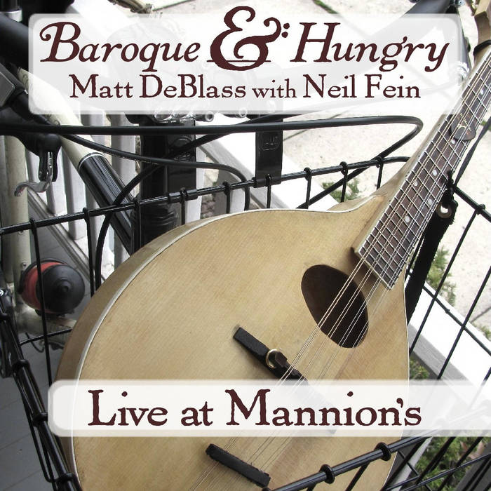 Live at Mannion's cover art