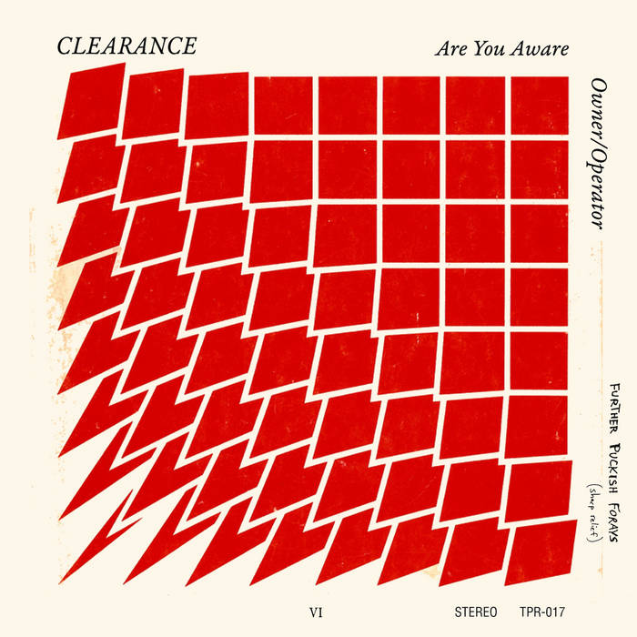 """Are You Aware (7"""") cover art"""
