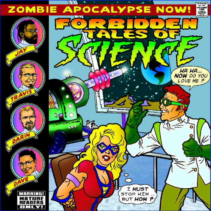 Forbidden Tales of Science cover art