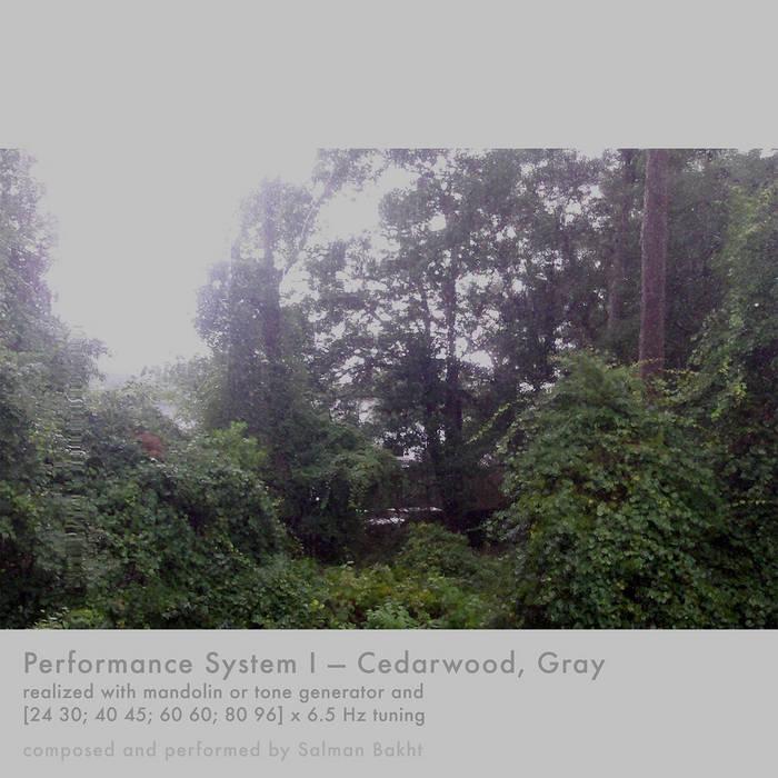 Cedarwood, Gray cover art
