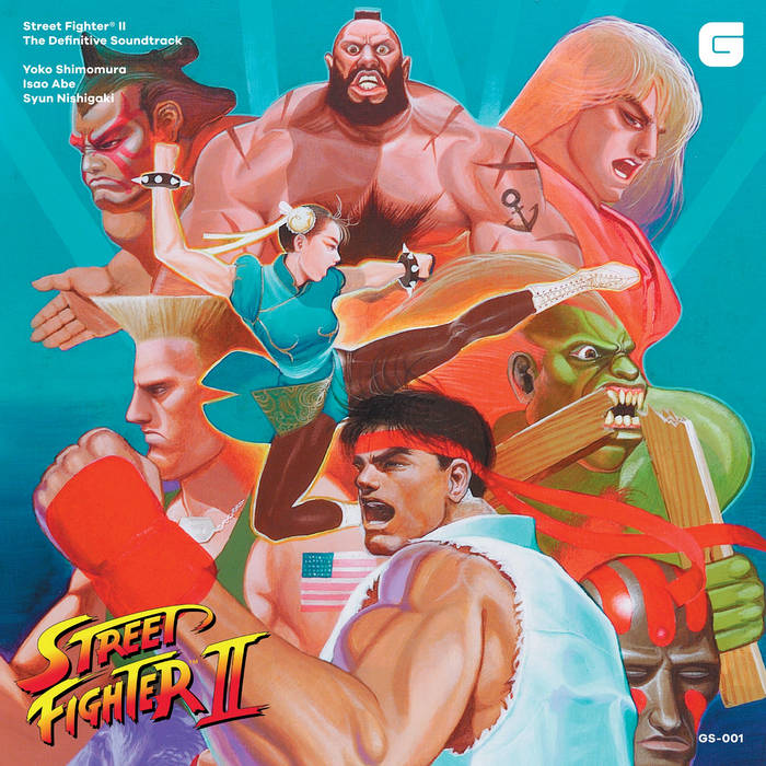 Street Fighter II The Definitive Soundtrack cover art
