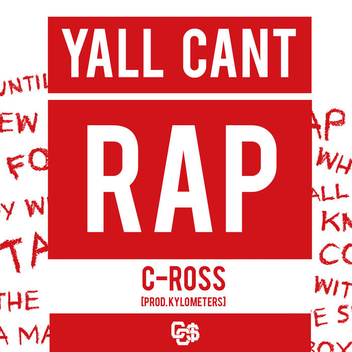 Y'all Cant Rap (Prod. Kylometers) cover art