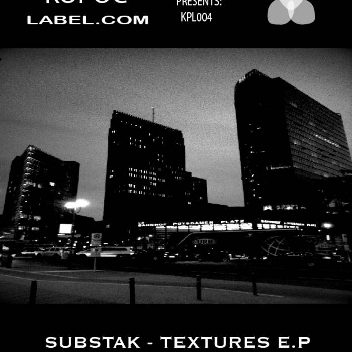 [KPL004] Substak - Textures EP cover art