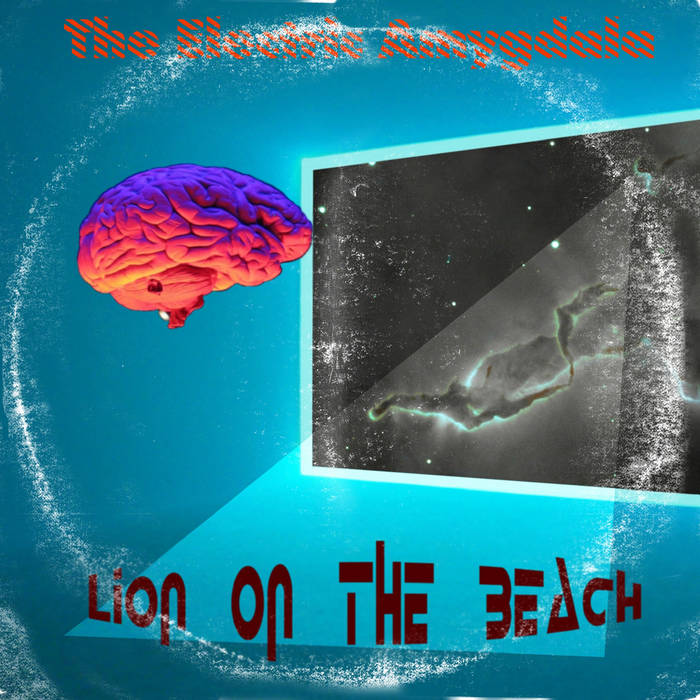 Lion On The Beach cover art