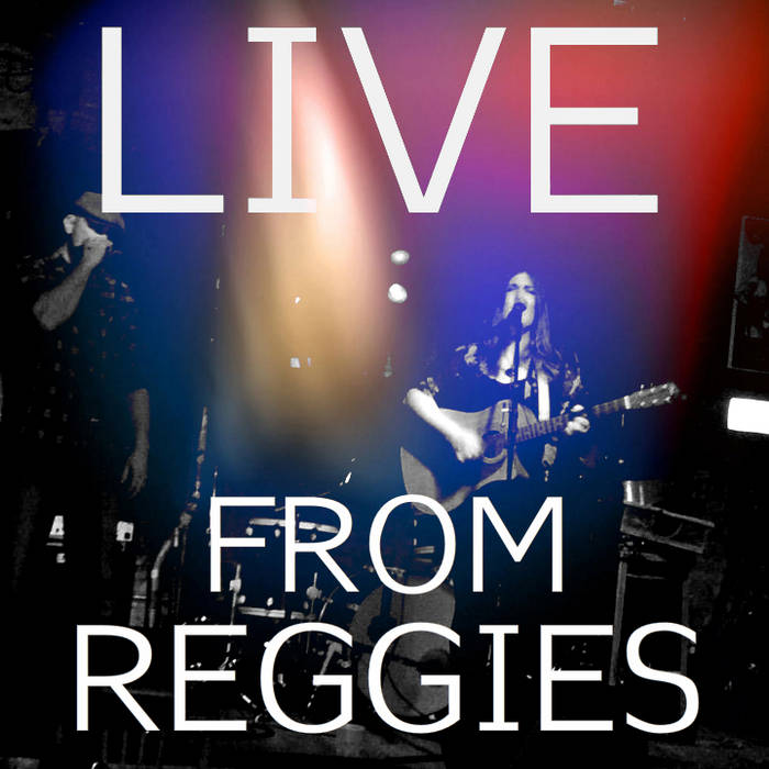LIVE from Reggie's cover art