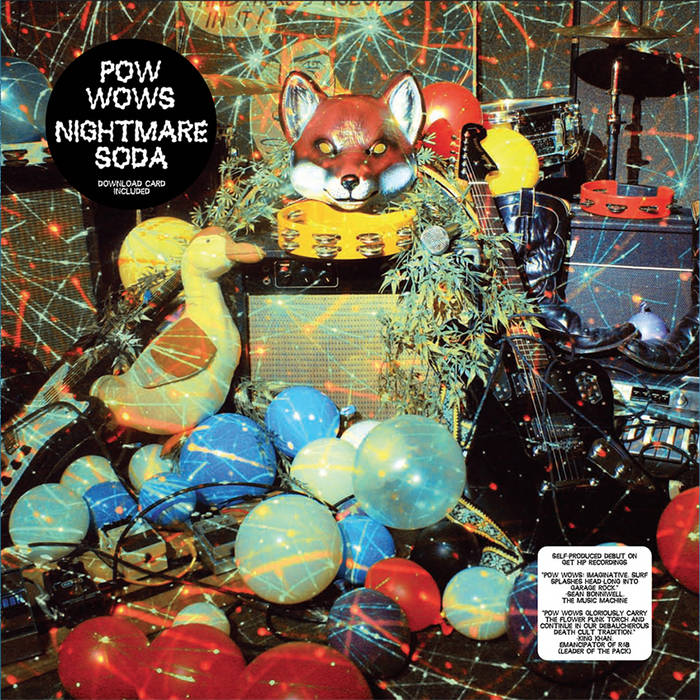 Nightmare Soda LP cover art