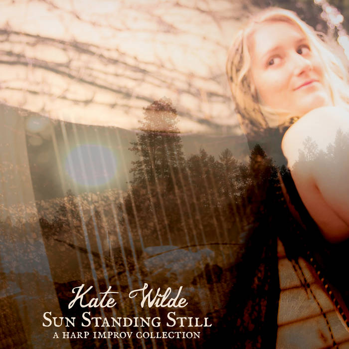 Sun Standing Still: a harp improv collection cover art