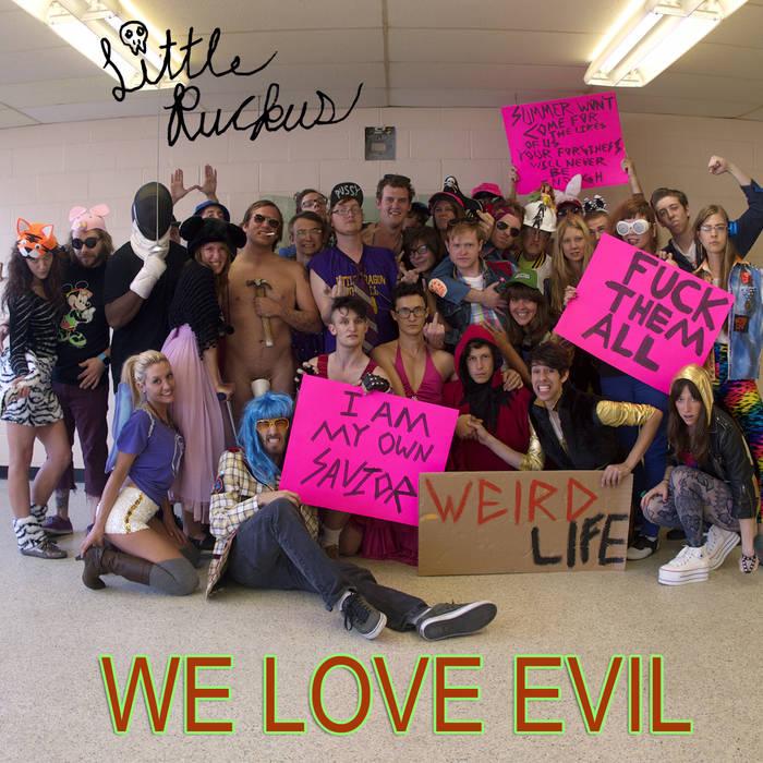 We Love Evil cover art
