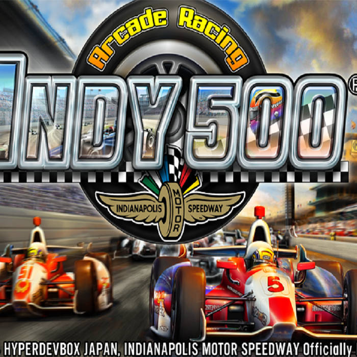 Indy 500 Arcade Racing - Soundtrack cover art