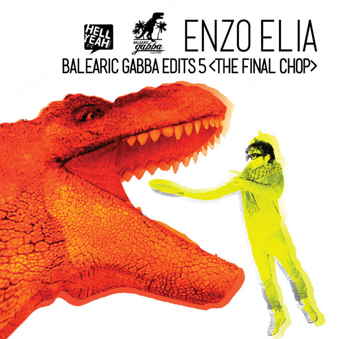 """12"""" Enzo Elia - Balearic Gabba Edits 5 cover art"""