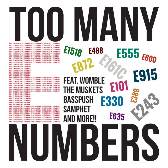 Too Many E Numbers! EP (SWB005) cover art