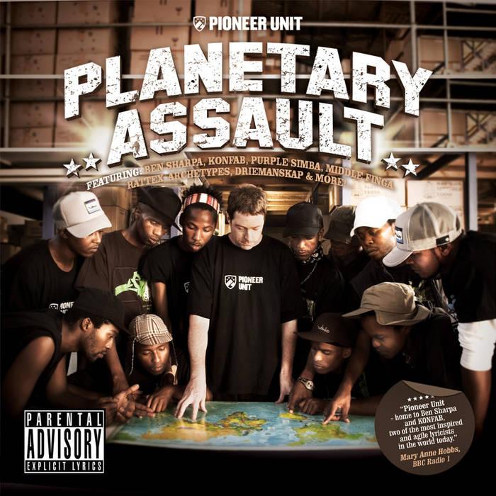 Planetary Assault cover art