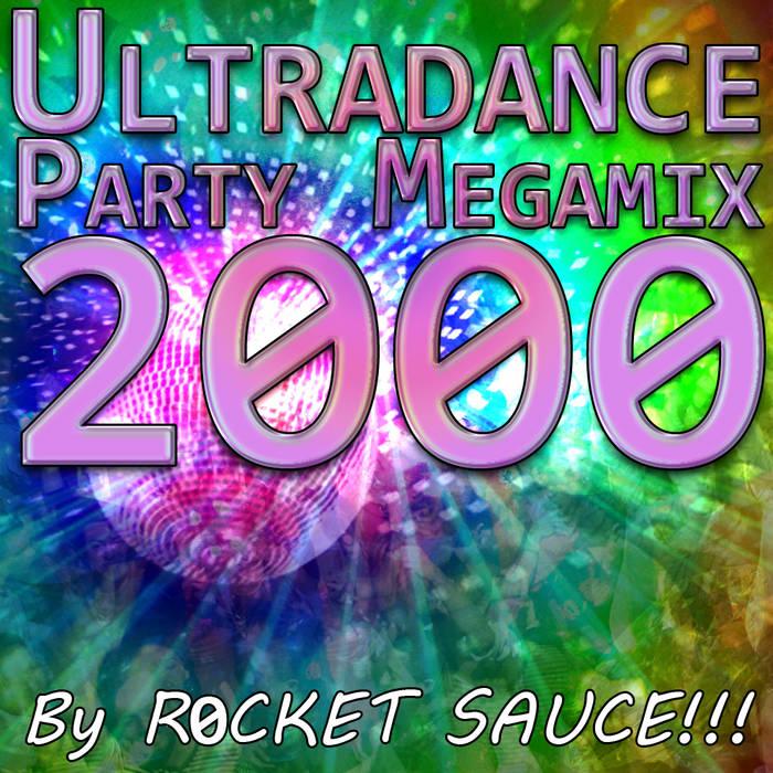 Ultradance Party Megamix 2000 cover art