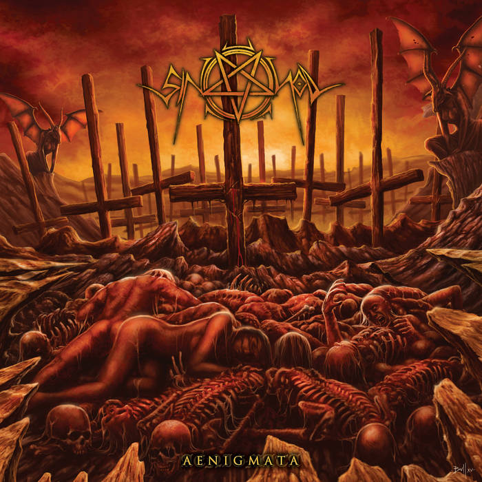 Detail from Sin of God New Album, Aenigmata, Detail from Sin of God New Album Aenigmata