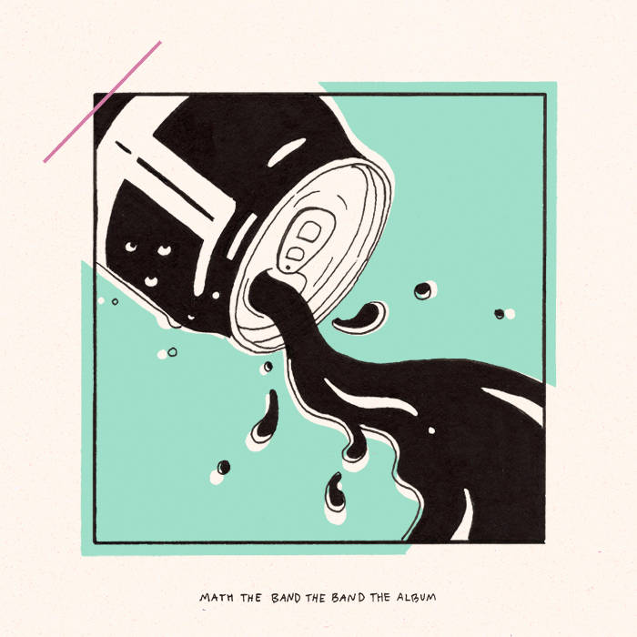 Math the Band the Band - The Album cover art