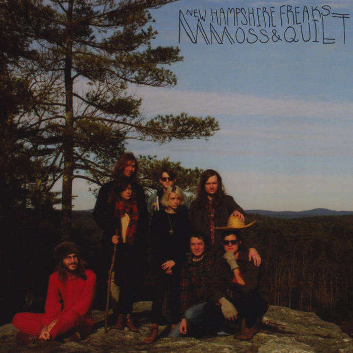 New Hampshire Freaks (red-shell cassette repress) cover art