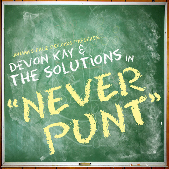 Never Punt cover art