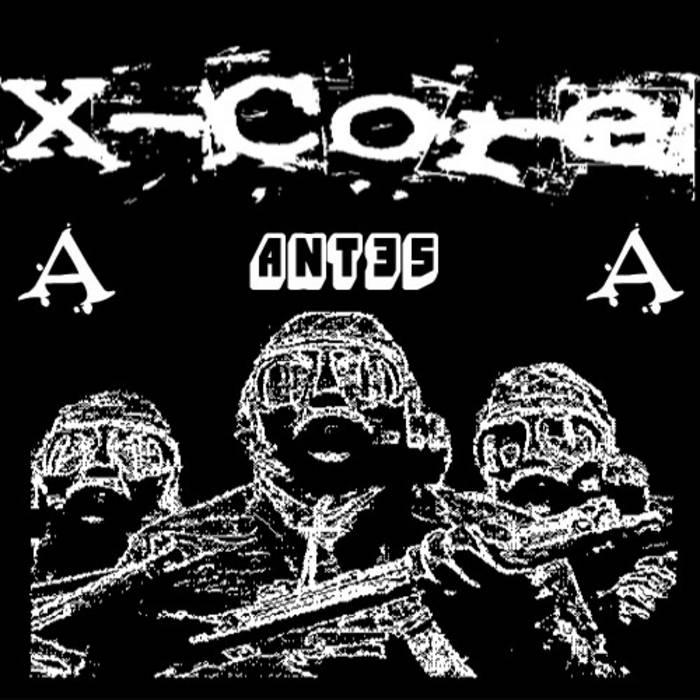 X-Core / DJ Freak - Split cover art