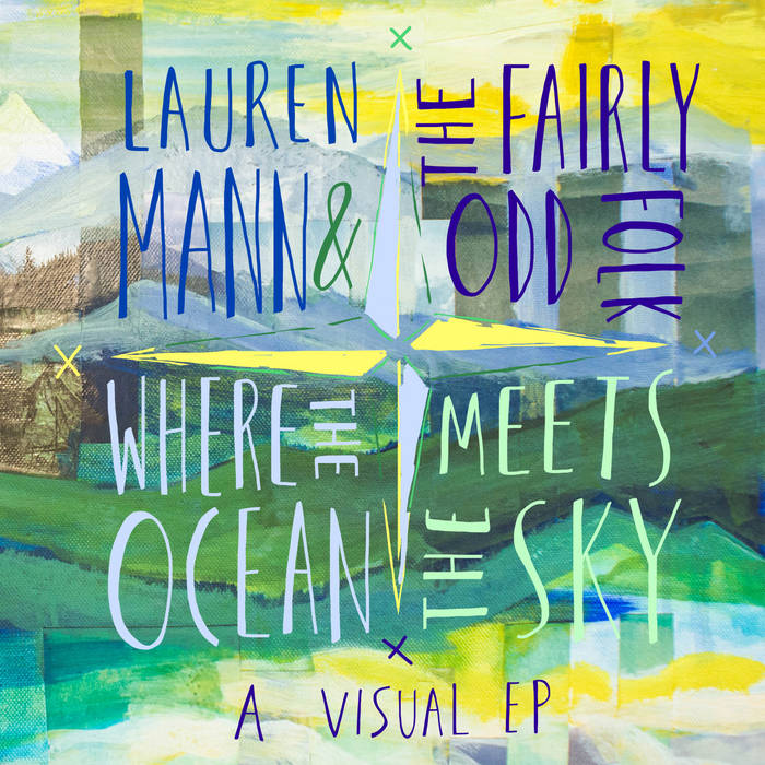 Where the Ocean Meets the Sky: A Visual EP cover art