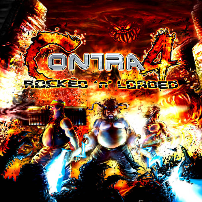 Contra 4: Rocked 'n' Loaded cover art