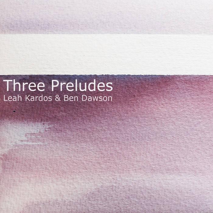 Three Preludes cover art