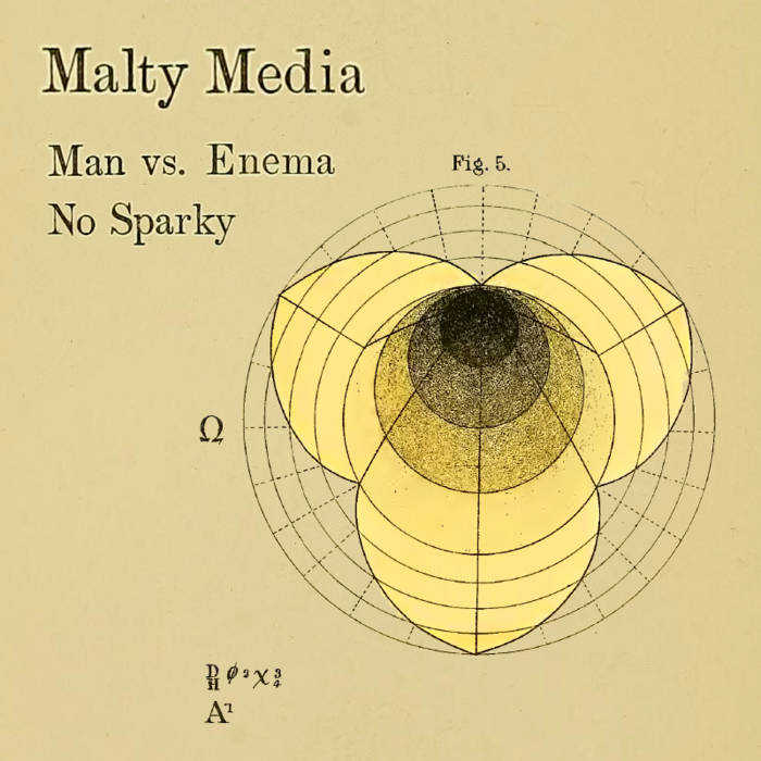 Man vs Enema / No Sparky cover art
