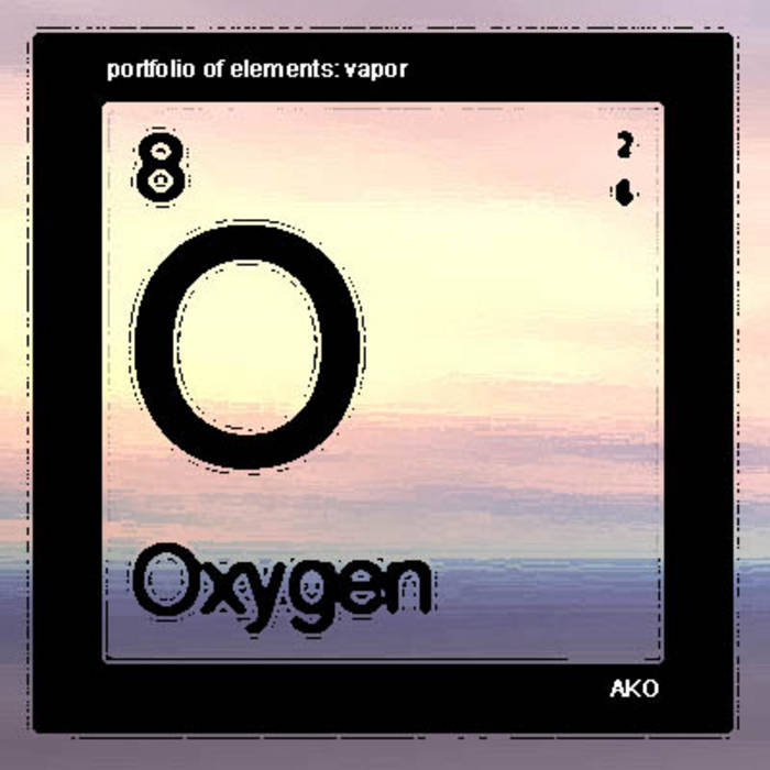 periodic portfolio of elements: VAPOR cover art