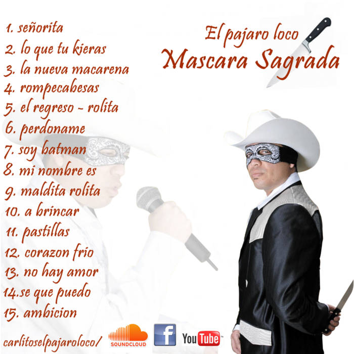 Mascara Sagrada cover art