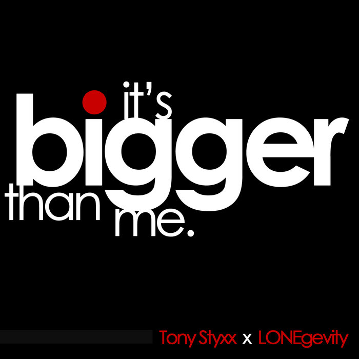 It's Bigger Than Me cover art