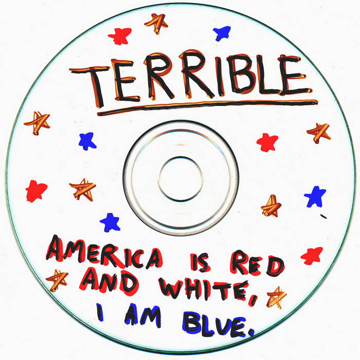 America Is Red And White, I Am Blue cover art