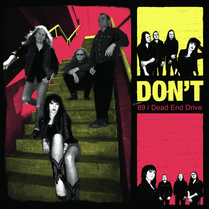 "89 / Dead End Drive 7"" cover art"