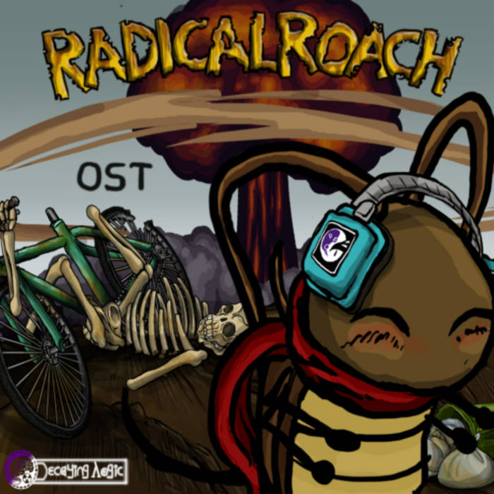 RADicalROACH OST cover art