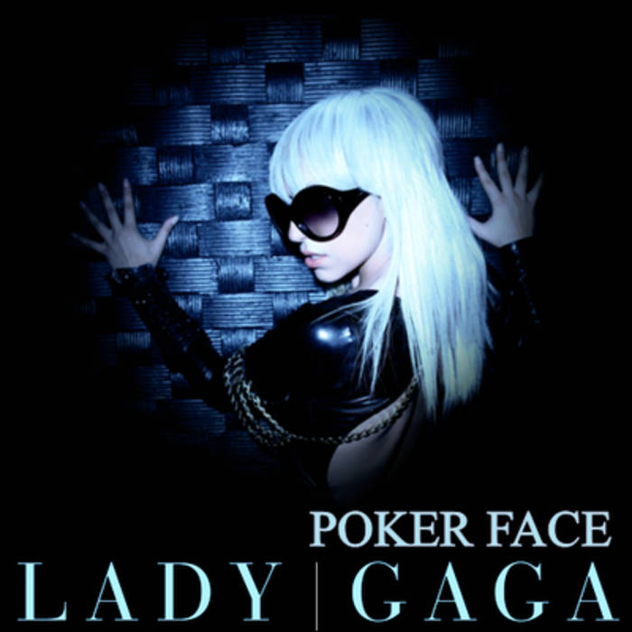 "Lady Gaga ""Poker Face"" Remix cover art"