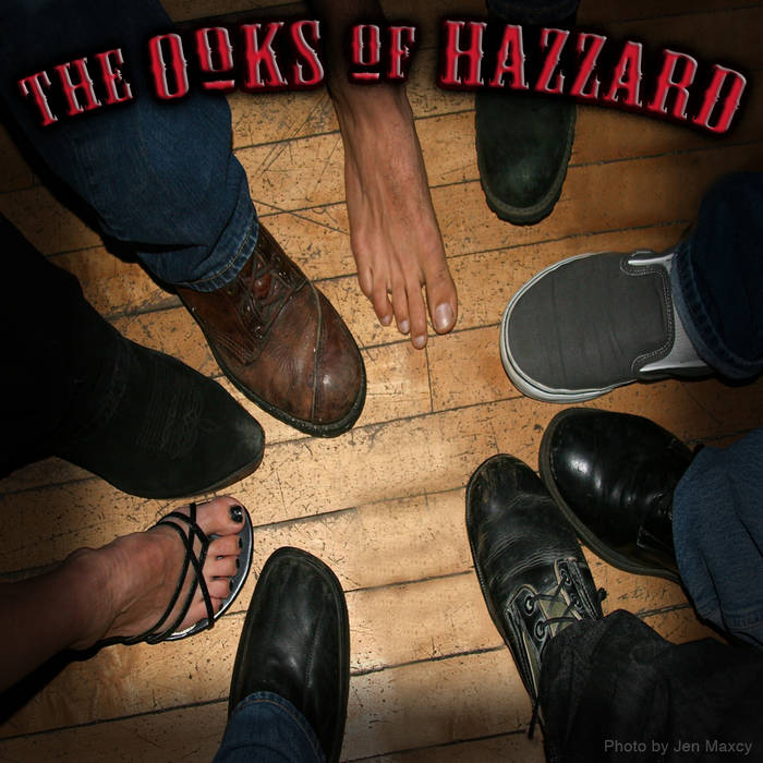 The Ooks of Hazzard EP cover art