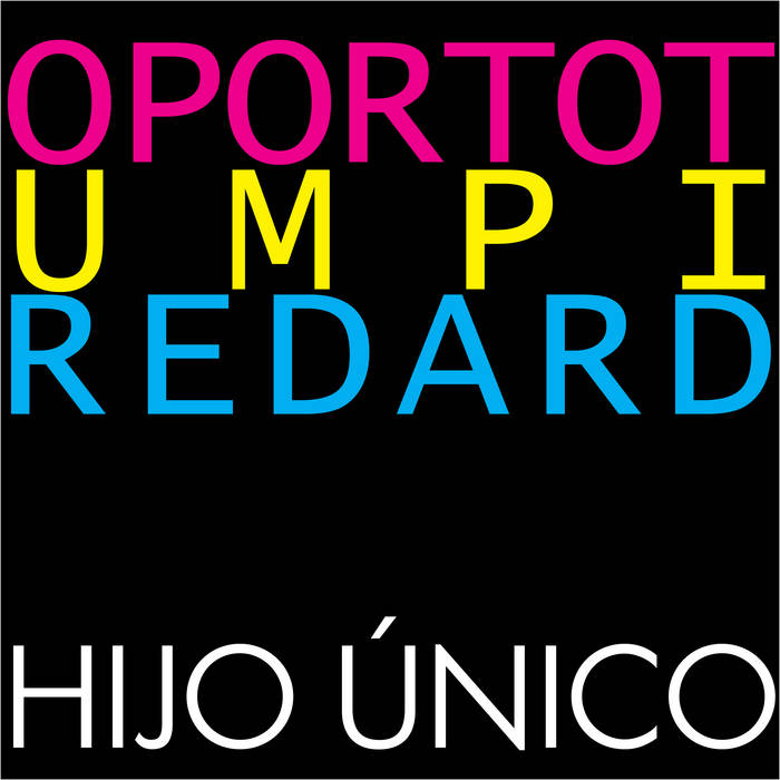 Hijo Único cover art
