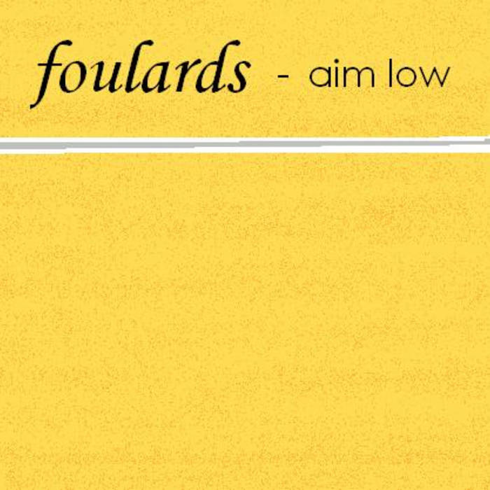 Foulards EP cover art