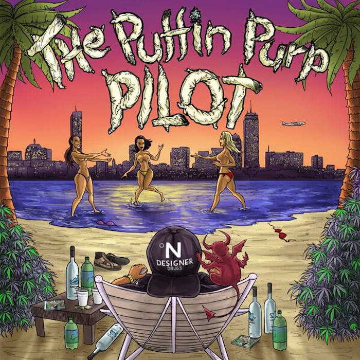 The Puffin Purp Pilot cover art