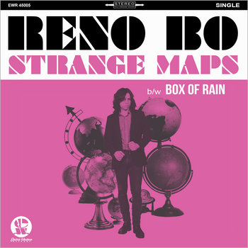 """Strange Maps"" b/w ""Box Of Rain"" (DIGITAL 45 SINGLE) by Reno Bo"