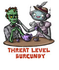Threat Level Burgundy image