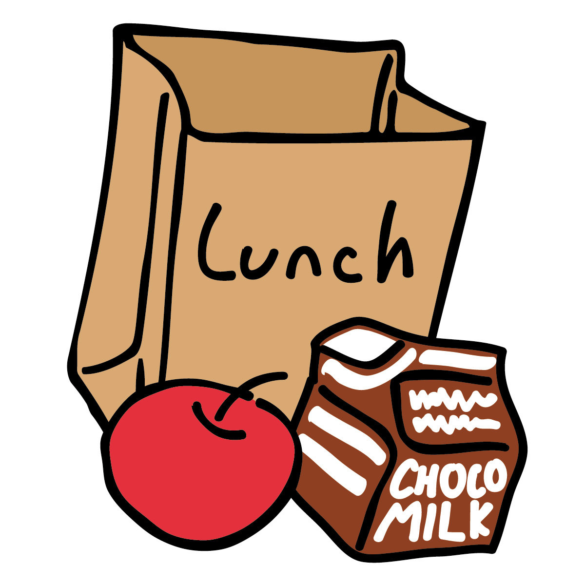 team sack lunch rh teamsacklunch bandcamp com bag lunch clipart Lunch Meeting Clip Art