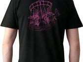 T-shirt, unieke zeefdruk photo